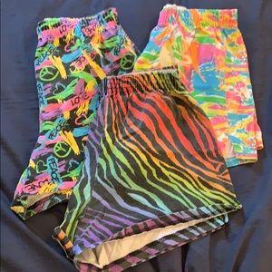 Lot of 3 Soffe shorts